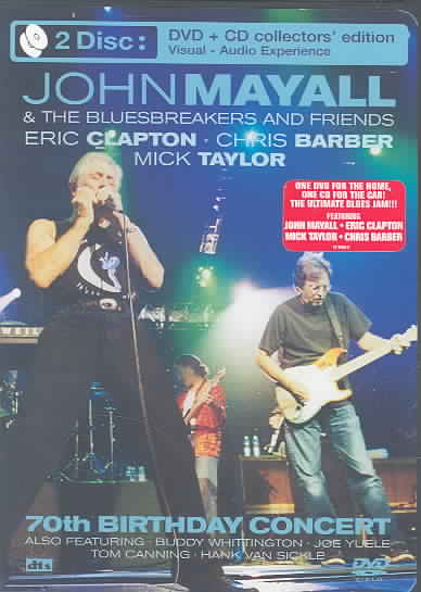 70TH BIRTHDAY CONCERT:SPECIAL EDITIO BY MAYALL,JOHN (DVD)